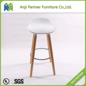Best Selling Unique Design Industrial Bar Stool with Wooden Legs (Banyan) pictures & photos