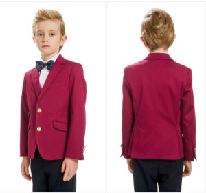 Boys Red Blazer Schoolboys Jacket