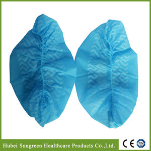 Nonwoven Anti-Skid Shoe Cover, Machine Made Shoe Cover pictures & photos
