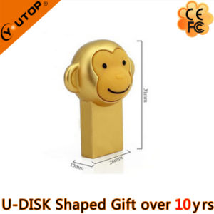 Hot Selling Gifts Mini Golden Monkey USB Drive (YT-M) pictures & photos