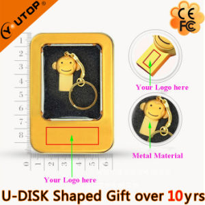 Popular Metal Monkey Shaped USB Stick for Promotion Gift (YT-M) pictures & photos