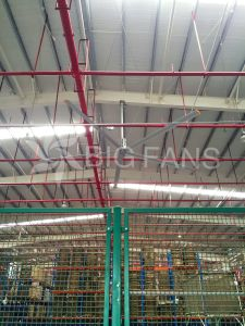 Large Ceiling Fan Hvls Automatic Industrial Giant Ceiling Fan / Fan of Ceiling/7.4m (24.3FT) pictures & photos