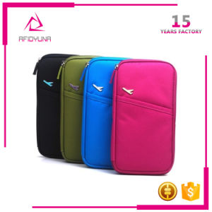 Documents Bag Multifunctional Card Ticket Passport Holder Folder Travel Wallet pictures & photos