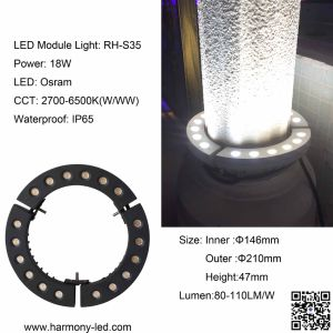 Special IP65 Waterproof 18W LED Round Module Light pictures & photos