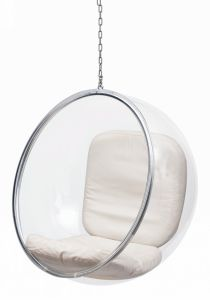 Acrylic Hanging Bubble Chair For Living Room