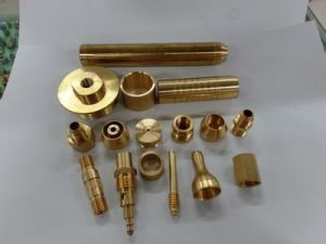 Gold Plated Brass Machining Products for Machinery Spare Parts pictures & photos