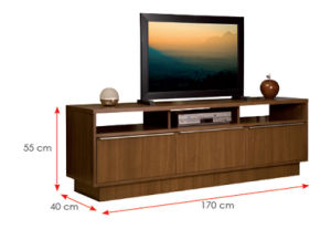 Living Room Furniture Wooden Cabinet TV Stands (HX-DR009) pictures & photos