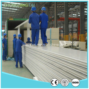 Lightweight Energy-Saving Fireproof Composite Wall Board EPS Sandwich Panel pictures & photos