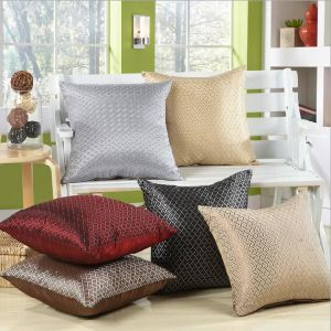 Embroidered Cotton Linen Decorative Throw Pillow Cover Cushion (DPF107137) pictures & photos