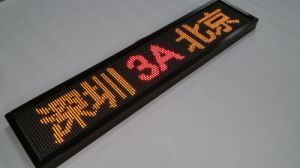 Electronic Bus Destination LED Programmable Sign Display pictures & photos