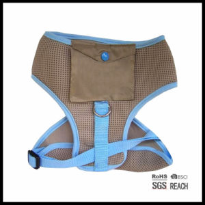 Personalized Safety Pet Dog Running Mesh Vest Harness with Poo Pocket pictures & photos