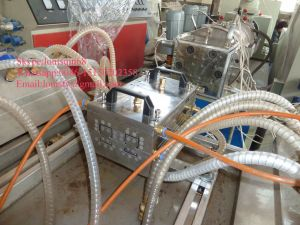 Automatic PVC Cable Trunking Extrusion Line pictures & photos