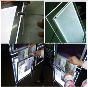 OEM Acrylic Light Box with Etching Logo pictures & photos
