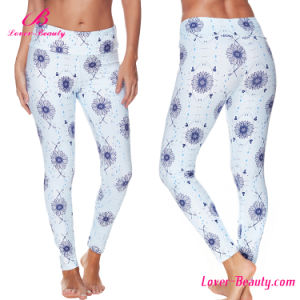 Free Sample Polyester Spandex Sexy Women Legging