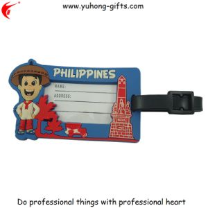 Soft PVC Luggage ID Tag for Promotion (YH-LT013) pictures & photos