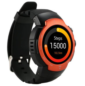 Android 5.1 3G Smart Watch Mobile Phone with GPS Heart Rate pictures & photos