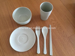 Nature Wheat Tablewares Dinner Set Nw003 pictures & photos