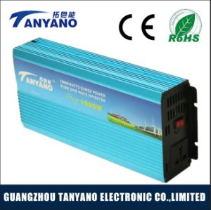 12V DC to AC off Grid Pure Sine Wave 1000W Power Inverter Solar pictures & photos