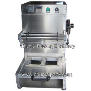 as-2 Desktop Pneumatic Tray Sealing Machine pictures & photos