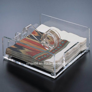 New Acrylic Clear Plastic Napkin Holder pictures & photos