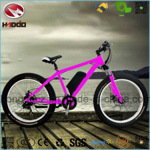 Electric Fat Tire Beach Bicycle A380 Plus with Suspension pictures & photos