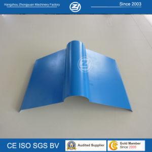 Galvanized Sheet Metal Ridge Cap Roll Forming Machine pictures & photos