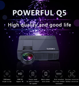 2016 Hot Selling LCD Projector Home Movies Projector for Home Theatre pictures & photos