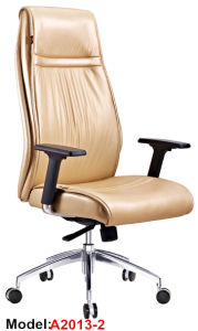 Ergonomic Wooden Chair Leather Executive Chair Arm Chair Furniture (A2012-1) pictures & photos