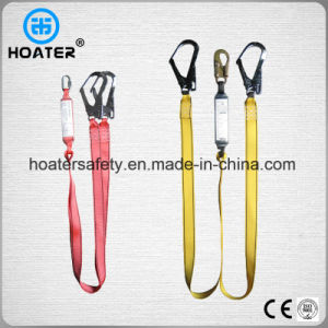 Fall Protect Safety Harness Two Hooks Lanyard Made in China