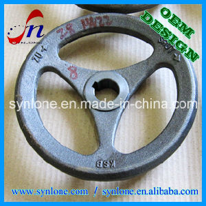 Sand Casting Process Cast Iron Handwheel pictures & photos
