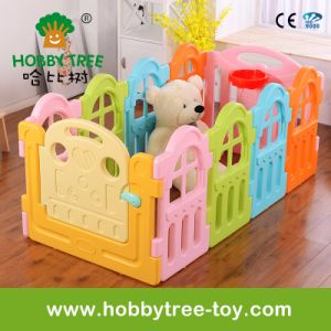 2017 Marcarons Color Square Children Plastic Play Fence (HBS17057A)