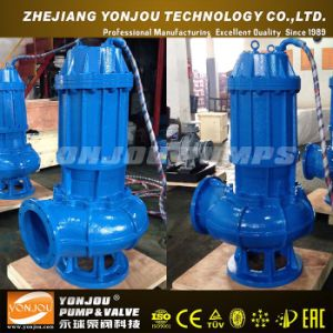 Qw Three Phase Sewage Submersible Pump, AC Non-Clogging Vertical Submersible Pump pictures & photos