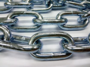Galvanized Anchor Welded Link Chain pictures & photos