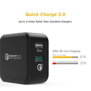 Portable Quick Charger 3.0 30W USB Charger pictures & photos