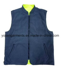 Adult′s Waterproof Padding Padded Reflective Safety Clothing Body Warmer Reversable Vest pictures & photos