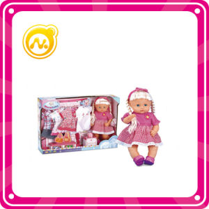 """16"""" Child Doll Music IC Doll with Four Sets of Clothes"""