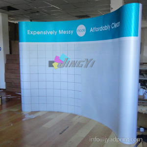 PVC panel curve magnetic pop up system banner Exhibition Display pictures & photos