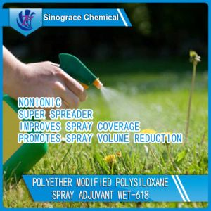 Organo Fine Chemicals Agricultural Silicone Surfactant for Spray Modifier pictures & photos