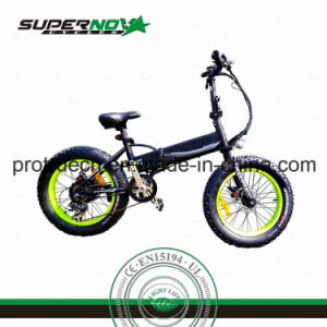 Fat Tire Folding Electric Bicycle pictures & photos