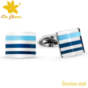 Man Suit Factory Men′s High Quality Fashion Metal Cuff Link pictures & photos