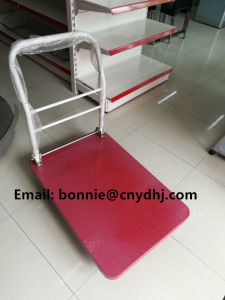 Plastic Platform Hand Truck Folding Noiseless Trolley pictures & photos