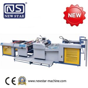 Yfma-920/1050A New Star Electromagnetic Heating Fully Automatic Laminator pictures & photos
