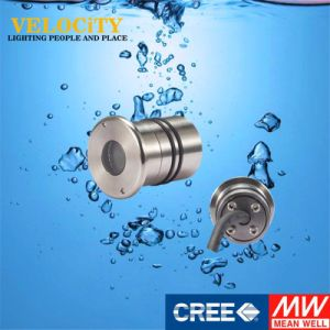 24V 1W/3W Stainless Steel RGB LED Underwater Pool Light pictures & photos