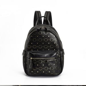 Floral Laser Cut Simple College Backpack and Leisure Rucksacks pictures & photos