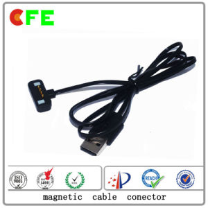Custom Magnetic DC Power Connectors for Electronic Products pictures & photos