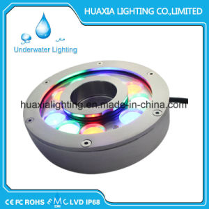 316 Stainless Steel IP68 27W LED Fountain Underwater Light pictures & photos