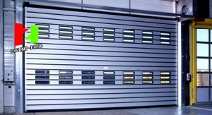 Rapid High Performance High Speed Spiral Entry Stainless Steel Door (Hz-FC5450) pictures & photos