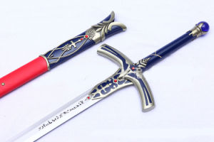 Fate Stay Night Caliburn for Cosplay or Display/Anime Sword/Cartoon Sword pictures & photos