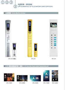 Performance Customized LCD Display ISO Passenger Elevators pictures & photos