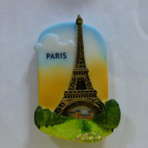 Custom Different Shape Resin Fridge Magnet for Deco pictures & photos